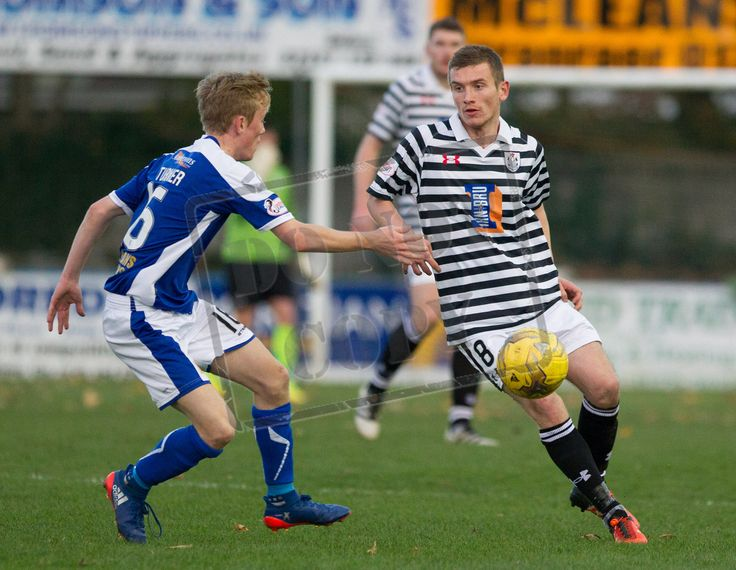 Queen's Park's Gregor Fotheringham in action during the Ladbrokes League One game between Stranraer and Queen's Park.