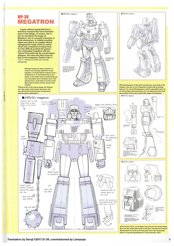 Transformers Generations 2016-2017 MP-36 Megatron article