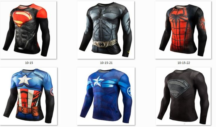 $5.69 (Buy here: https://alitems.com/g/1e8d114494ebda23ff8b16525dc3e8/?i=5&ulp=https%3A%2F%2Fwww.aliexpress.com%2Fitem%2FMens-3D-Compression-Shirt-Marvel-Superman-Captain-America-Long-Sleeve-Crossfit-T-Shirt-T-Shirts-Tights%2F32751001808.html ) Mens 3D Compression Shirt Marvel Superman Captain America Long Sleeve Crossfit T-Shirts Tights Fitness Protective Clothing  for just $5.69