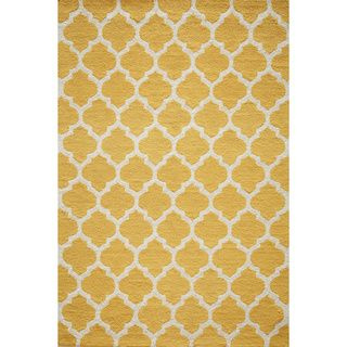 "Casablanca Yellow Hand-hooked Runner (2'3"" x 7'6"")"
