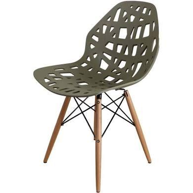 Beech forest design stoel avocado