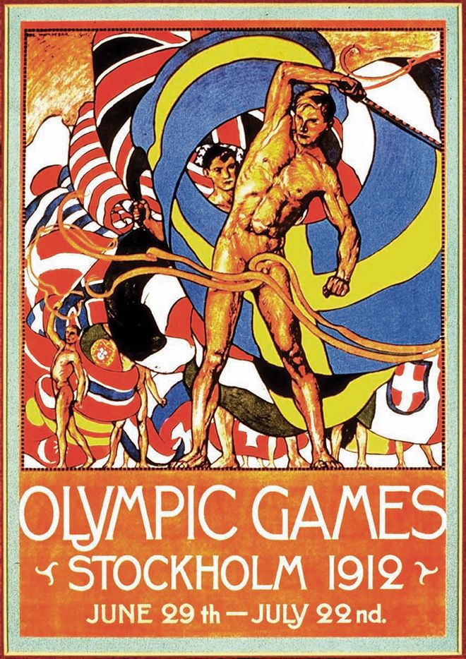 Vintage et cancrelats: Vintage Olympiades 1919