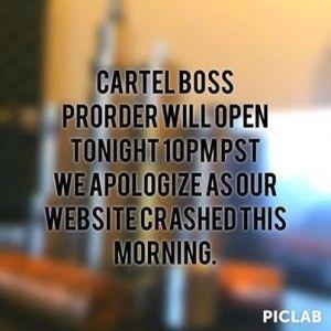 Cartel Boss par Cartel mods : ouverture des pré-commandes demain à 6h00