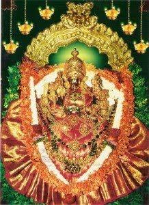 CHAMUNDESHWARI DEVI, Mysore (Karnataka) Mysore was ruled by the demon-king Mahishasura, he was a buffalo-headed monster. For this reason, came the name of this place - Mahishuru, the town of demon Mahisha. Hearing to the prayers of Gods and Goddess to save them from the monster, Goddess Parvathi, (consort of Lord Siva), took birth as Chamundeshwari and killed the monster.