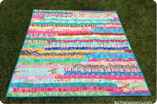 45 Free Jelly Roll Quilt Patterns + New Jelly Roll Quilts | FaveQuilts.com#msIgVbDM1vKZcaZD.32