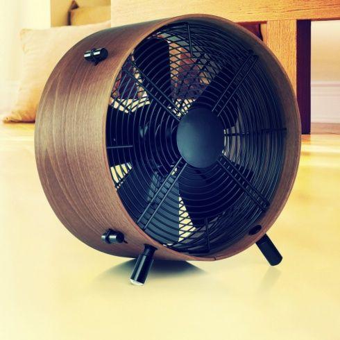 LUXUSNÝ VIETOR VO VLASOCH   Drevený ventilátor Stadler Form OTTO