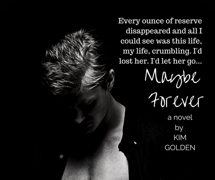From Maybe Forever by Kim Golden Coming 15 May 2015