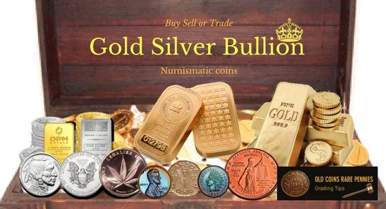 #Gold #Silver #Bullion #Buy #Sell or #Trade #Numismatic #coins