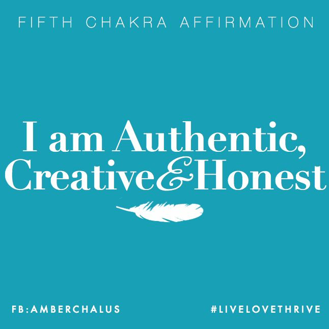 Fifth Chakra Affirmation | Sign up for my weekly love-letters and receive yogic & holistic wisdom for creating a life and body you love...naturally.