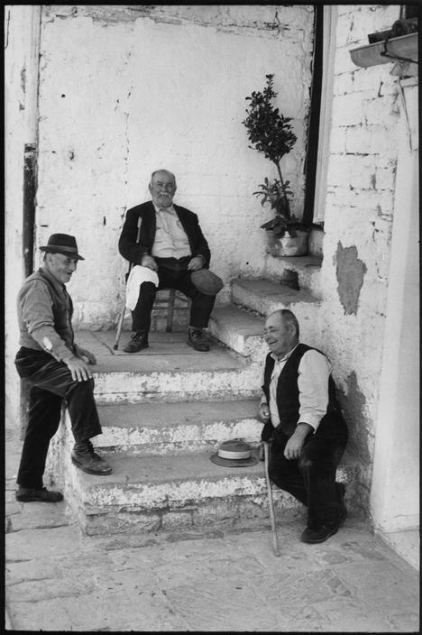 Henri Cartier-Bresson, Potenza, Basilicate, Italie, 1973. © Henri Cartier-Bresson/Magnum Photos.