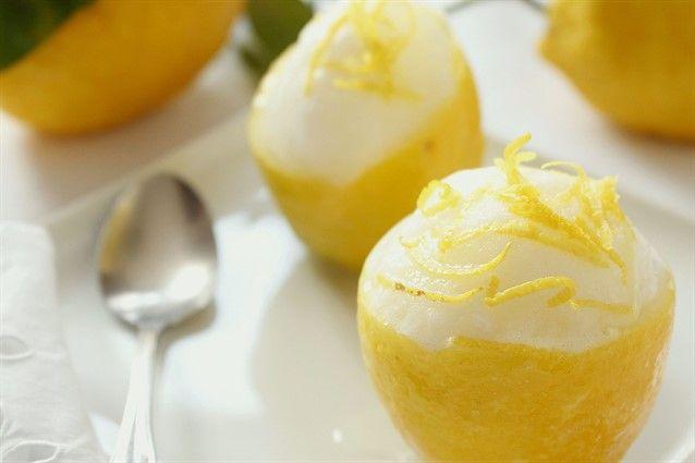 Sorbetto al limone la ricetta semplice e originale da fare a casa