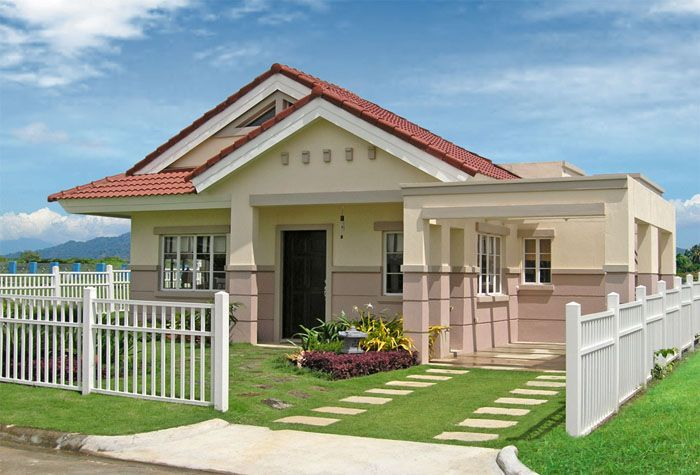 Medium Size House For The Medium Size Family Bahay Ofw House Design Simple House Interior Design Contemporary House Design