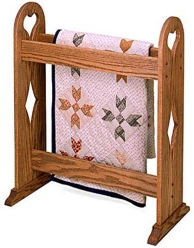 Quilt Rack Stand Plan