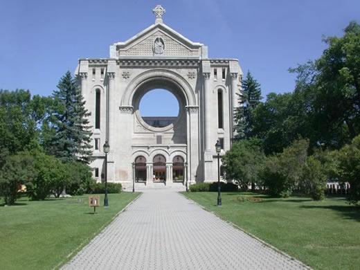 St. Boniface Basilica, Winnipeg, Manitoba