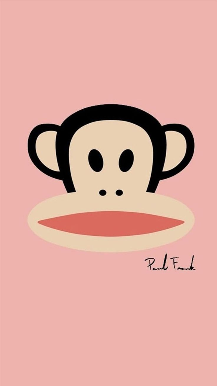 Wallpaper iphone monkey - Paul Frank Cute Iphone 6 Wallpapers 125