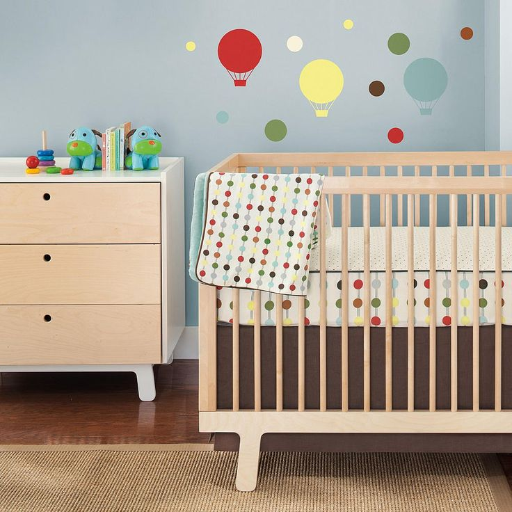 Skip Hop Mod Dot 4 Piece Crib Bedding Set Mod Dot