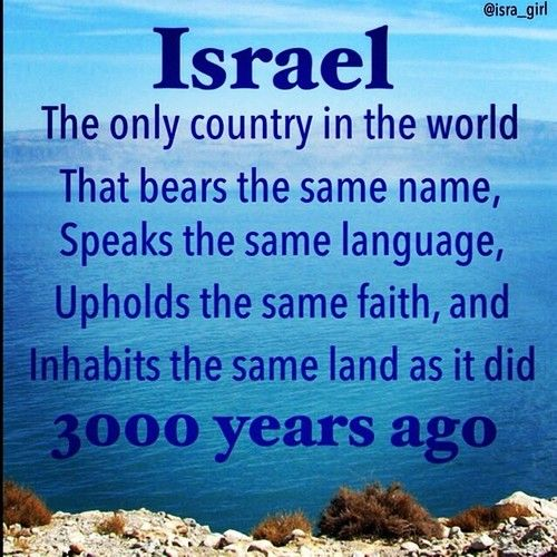 God dispersed them, and He brought them back again, as prophesied. Israel belongs to the Jews, forever.