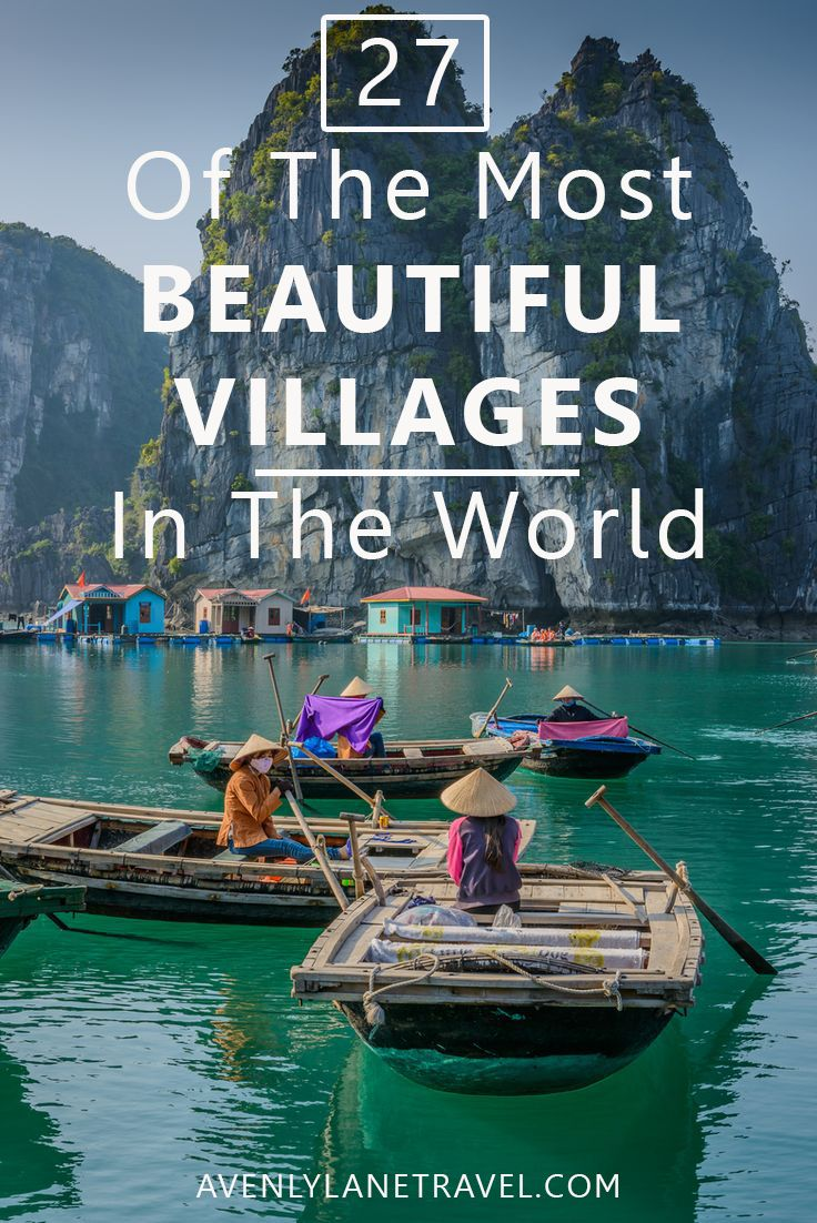 The Most BEAUTIFUL Villages in the World! Click through to Avenly Lane Travel to…