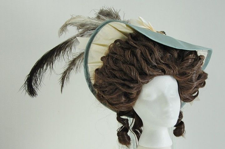 18th century hat tutorial (pinned for wig shape
