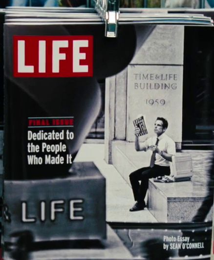 The Secret Life of Walter Mitty. The LIFE's Final Issue.