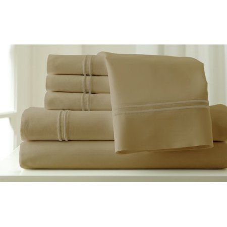 Amrapur Overseas Inc. Italian Hotel 1000 Thread Count Sheet Set, Gray