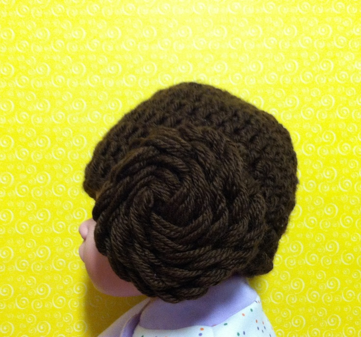 Baby Princess Leia Star Wars Crochet Hat Star wars ...