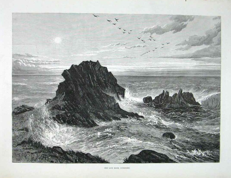 Lion Rock, Albecq, 1830.