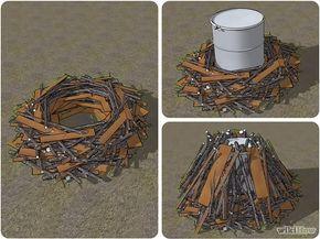 Cómo hacer carbón: http://es.wikihow.com/hacer-carb%C3%B3n