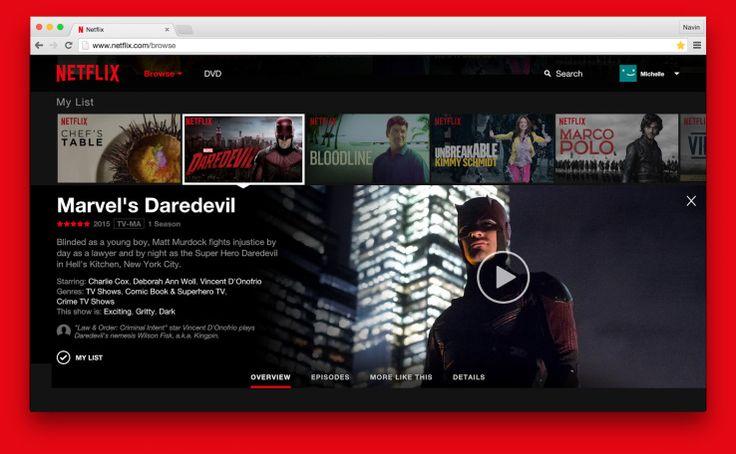 Netflix's Upgraded Website Goes Live #webdesign #websitedesign