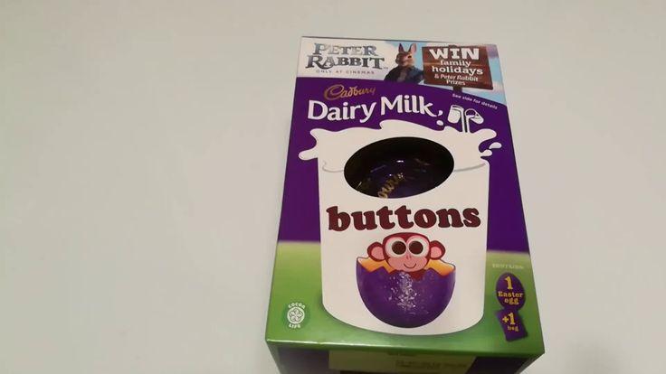 CADBURY DAIRY MILK EGG BUTTONS CHOCOLATE BOX