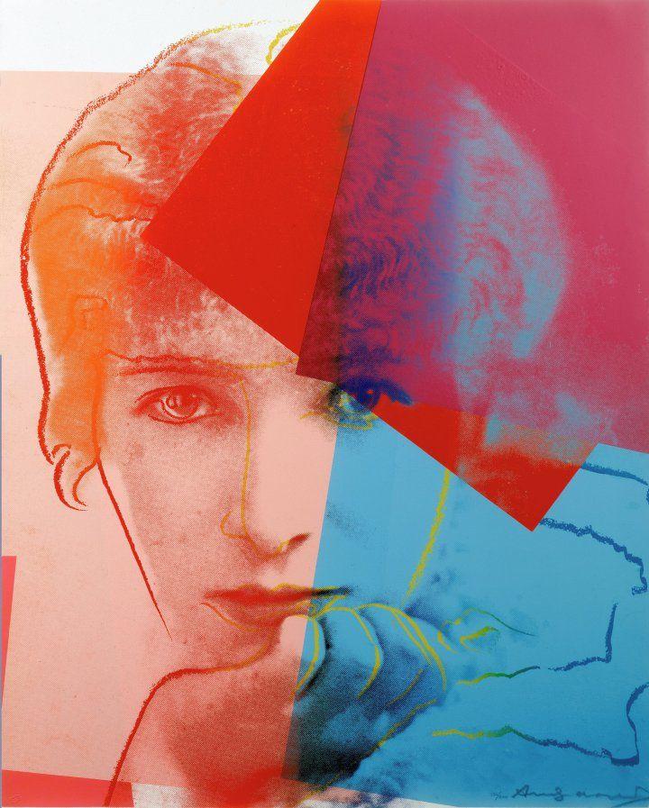 Sarah Bernhardt, from Ten Portraits of Jews of the Twentieth Century (1980), screenprint on paper - Andy Warhol