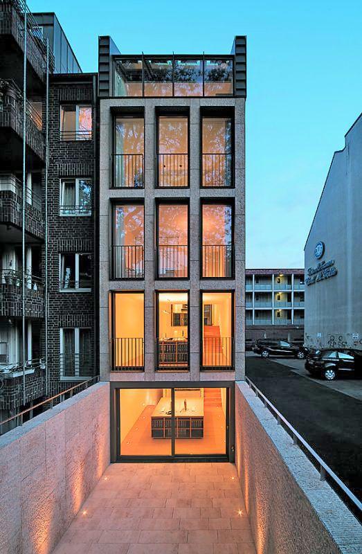 25 best ideas about grundriss mehrfamilienhaus auf for Moderne hotels nrw