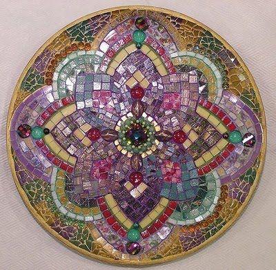 PieceMaker Mosaic Artists: Over-all Favorite Mandala!
