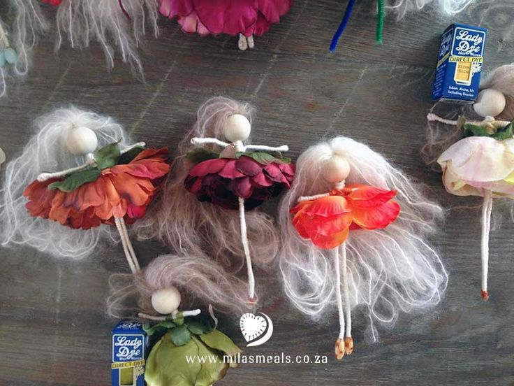 """All the details for a gluten-free, sugar-free, dairy-free """"Rainbow Flower Fairy Party"""" including links to Invitation & Sticker Templates, Fairy Making Instructions, and 3 recipes! http://milasmeals.co.za/birthday-parties/milas-3rd-birthday-party/21818/"""