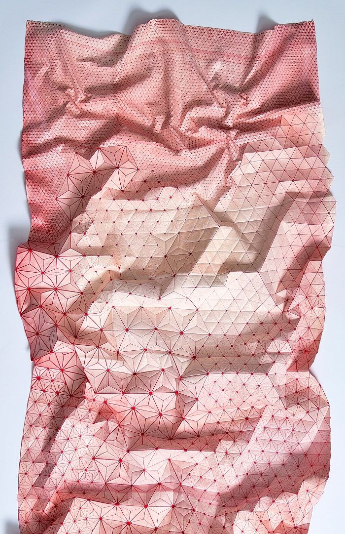"""""""Have another look to what we can do with fabrics, so different shapes, too much interesting stuff to create. Mika Barr just took this materials to create surprising designs. """""""