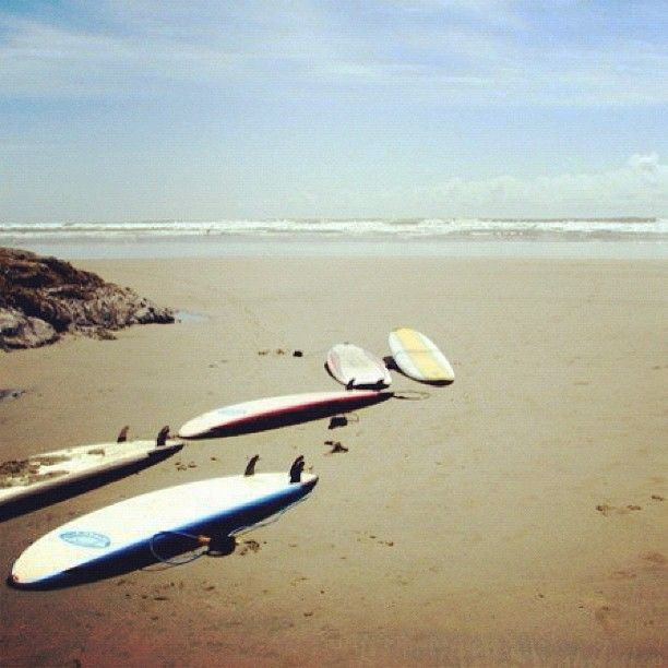 Time for a surf! Tofino