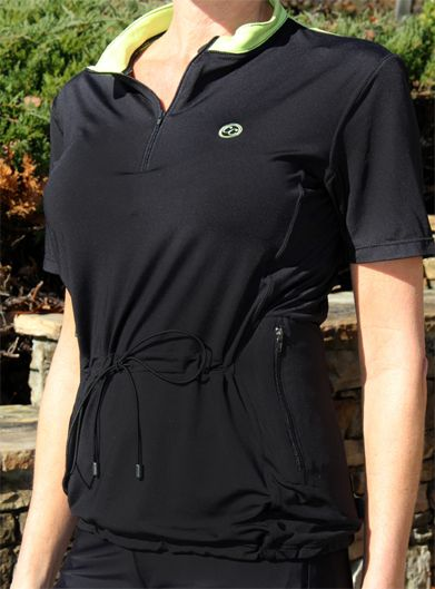 Concealed Carrie Athletic Shirt with loop lined, ambidextrous concealed carry pockets | Click here to learn more: http://www.concealedcarrie.com/ | $94.00 | #concealed #carry #concealedcarrie #ladies #girlsandguns