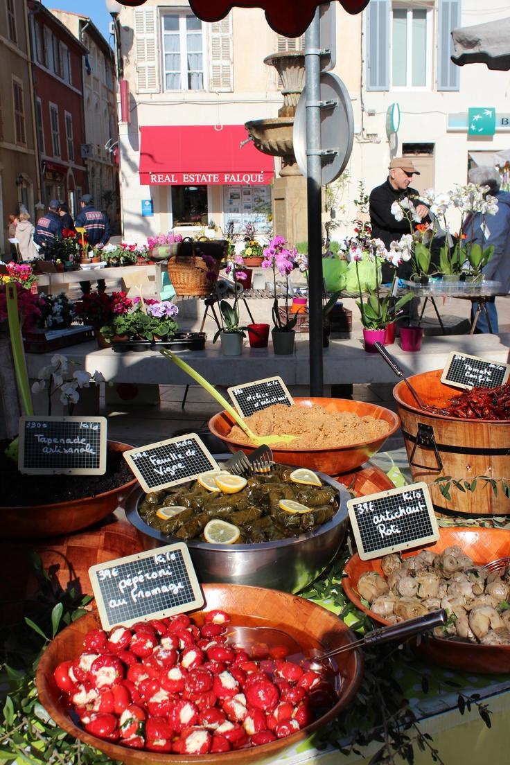 Cassis market. (A. Carman)