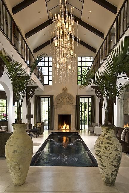 This House… The entire house is centered around the indoor pool. It's stunning!!