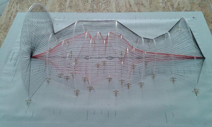 Se trata de una maqueta realizada por alumnos de la - Escuela de arquitectura de barcelona ...
