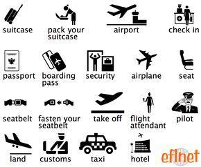 Air Travel - Worksheets | EFLnet