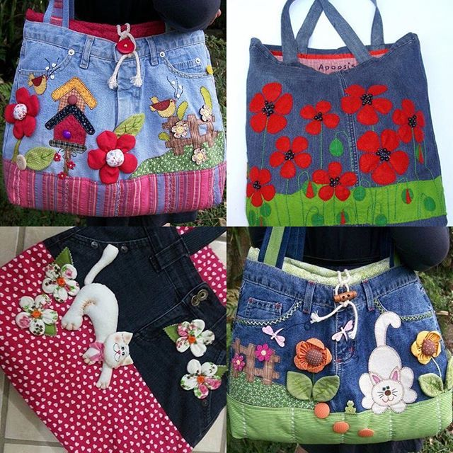 Se vi piacciono le borse in jeans, nella nostra pagina FB ( lik in bio) un post tutto dedicato al riciclo del denim!! #handmade#fattoamano#tutorial#fimo#crochet#mamme#sewing#sew#riciclo#riciclocreativo#creatività #craft#crafter#artigianato#diy#passoapasso#paper#mammecreative#creativemamy#recycle#knit#felt#pannolenci#denim#jeans#artesanato#sew#natal#natale#christmas#noel