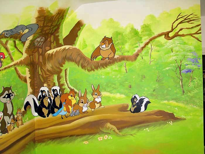 Cartoon Forest Animals Disney Animals Forest Friends