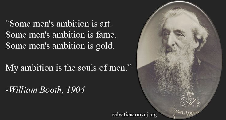 Classic William Booth quote for #ThrowbackThursday! #tbt ...
