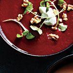 Spiced Beet and Carrot Soup Recipe | MyRecipes.com