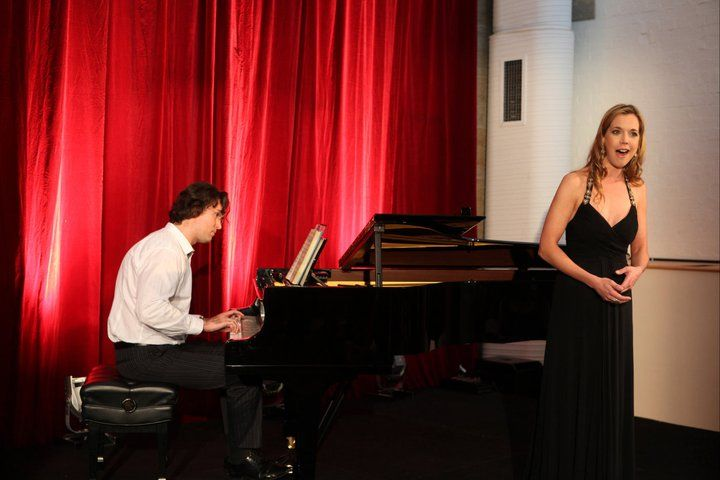 Mojca Erdmann and Accompanist in concert. I produced this Opera concert for Universal Music