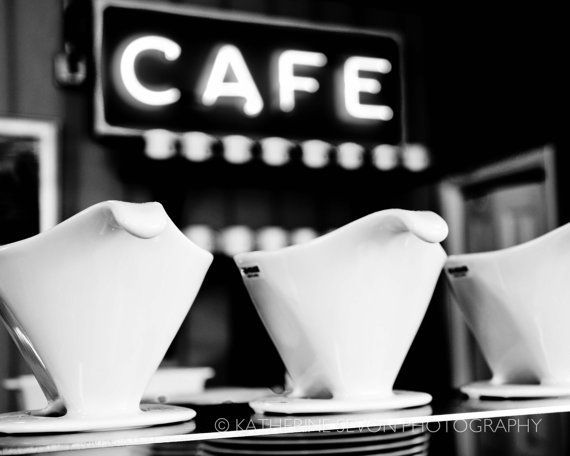 fine art photography cafe coffee black and by