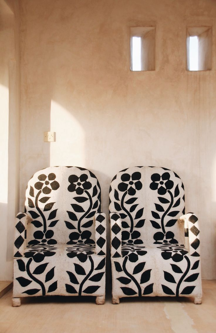 "sandylamu: "" Nigerian chairs, Lamu Island, Kenya, Photo Sandy B """