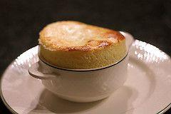 goat cheese souffle by David Lebovitz, via Flickr