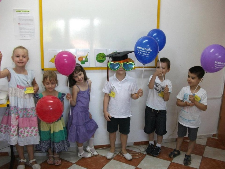 Learning is fun for kindergarten students at Lexis Pache (Bucharest)